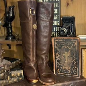 Vintage Juicy couture dark brown riding boots